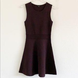 Theory Dominay Ventura Plum A Line Mini Dress S